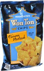 Trader Ming's Chinese Mustard Won Ton Chips