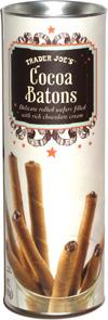 Trader Joe's Cocoa Batons