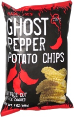 Trader Joe's Ghost Pepper Potato Chips