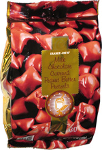 Trader Joe's Milk Chocolate Covered Peanut Butter Pretzels