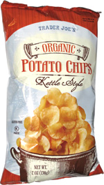 Trader Joe's Organic Potato Chips Kettle Style