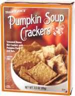 Trader Joe's Pumpkin Soup Crackers