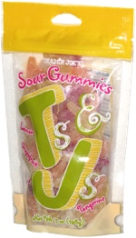 Trader Joe's Sour Gummies T's & J's