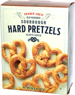 Trader Joe's Old-Fashioned Sourdough Hard Pretzels