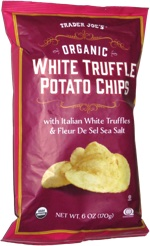 Trader Joe's Organic White Truffle Potato Chips