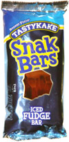 Tastykake Snak Bars Iced Fudge Bar