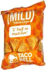 Taco Bell Mild Tortilla Chips