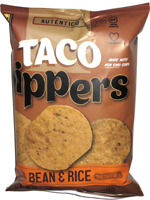 Taco Dippers Bean & Rice