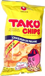 Tako Chips Octopus Flavored
