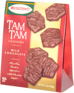 Tam Tam Crackers Milk Chocolate