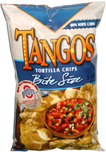 Tangos Tortilla Chips Bite Size