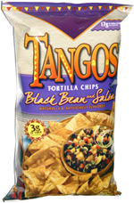 Tangos Tortilla Chips Black Bean & Salsa