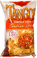 Tangos Tortilla Chips Cantina Style