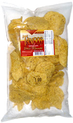 Tangos Tortilla Chips Deli Rounds