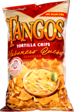 Tangos Tortilla Chips Habanero Queso