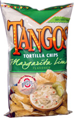 Tangos Tortilla Chips Margarita Lime