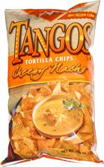 Tangos Tortilla Chips Cheesy Nacho