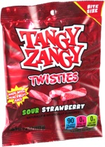 Tangy Zangy Twisties Sour Strawberry