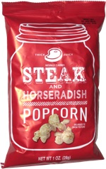 Steak and Horseradish Popcorn