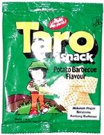 Taro Snack Potato Barbecue Flavor