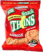 Tastemorr Carb Measure Snack Thins Barbecue