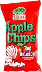 Tastee Apple Chips Red Delicious