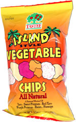 Tastee Island Style Vegetable Chips