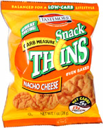 Tastemorr Carb Measure Snack Thins Nacho Cheese