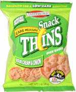 Tastemorr Carb Measure Snack Thins Sour Cream & Onion