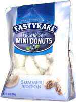Tastykake Blueberry Mini Donuts