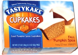 Tastykake Cupcakes Fall Pumpkin Spice