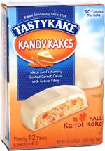 Tastykake Kandy Kakes Fall Karrot Kake