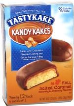 Tastykake Kandy Kakes Fall Salted Caramel