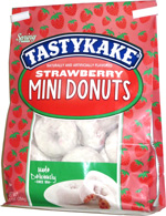 Tastykake Strawberry Mini Donuts