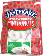 Tastykake Strawberry Mini Donuts