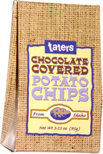 Taters Chocolate Covered Potato Chips