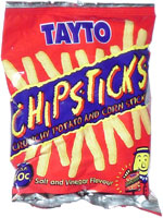 Tayto Chipsticks
