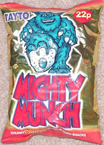 Mighty Munch Chunky Hot & Spicy Flavour Corn Snacks