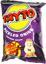 Tayto Pickled Onion Flavour Crisps