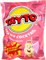 Tayto Prawn Cocktail Flavour Crisps