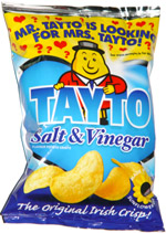 Tayto Salt & Vinegar Potato Crisps