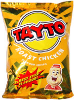 Tayto Roast Chicken Flavour Crisps