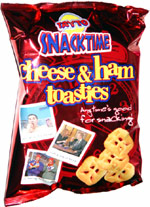 Tayto Snacktime Cheese & Ham Toasties