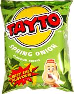 Tayto Spring Onion Flavour Crisps