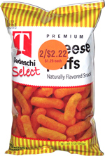 Tedeschi Select Premium Cheese Puffs