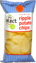 Tedeschi Select Premium Ripple Potato Chips