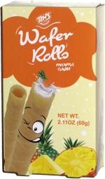 Tens Wafer Rolls Pineapple Flavor