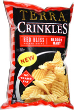 Terra Crinkles Red Bliss Potato Chips Bloody Mary