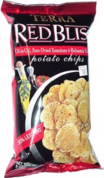 Terra Red Bliss Olive Oil, Sun-Dried Tomatoes & Balsamic Vinegar Potato Chips