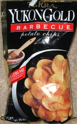 Terra Yukon Gold Barbecue Potato Chips